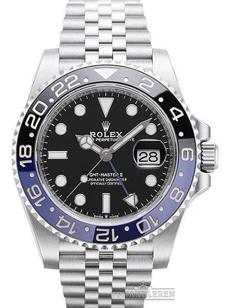 "Rolex GMT-Master II ""Batman"