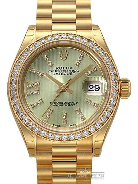Rolex Lady-Datejust 28, Linden Green