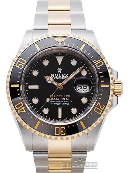 Rolex Sea-Dweller, Sort