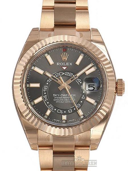 Rolex Sky Dweller, Rhodium