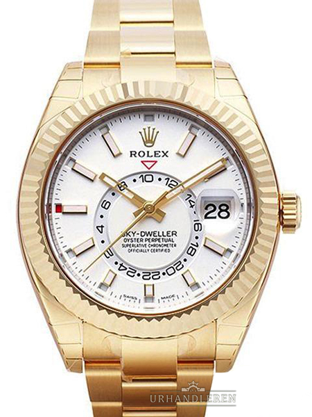 Rolex Sky Dweller, Hvid