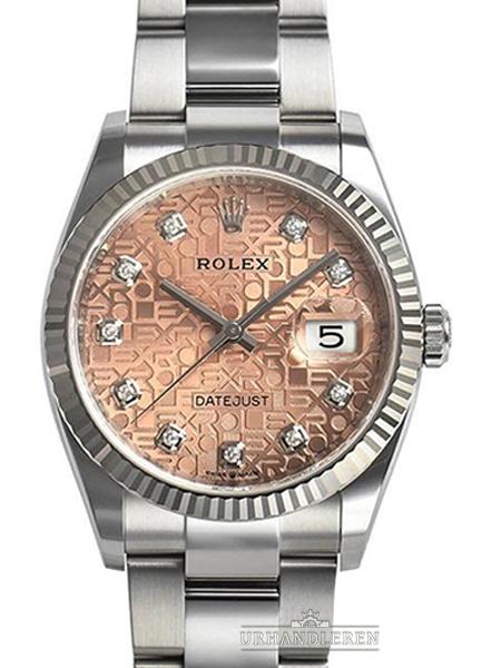 Rolex Datejust 36, Pink/Jubilee