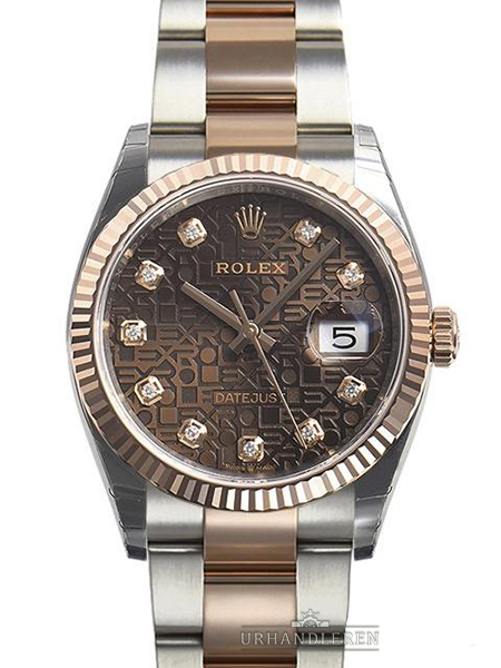 Rolex Datejust 36, Chocolate/Jubilee