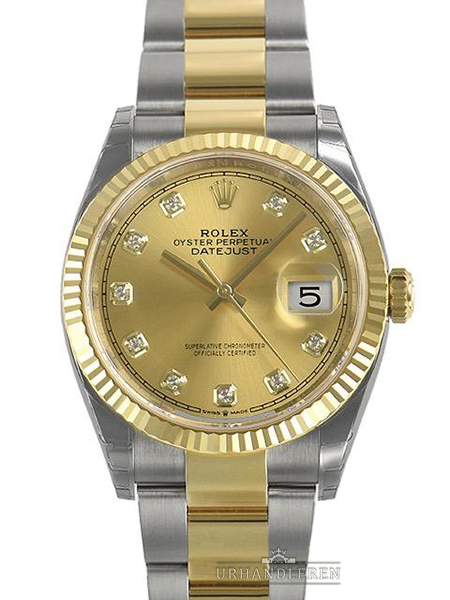Rolex Datejust 36, Champagne