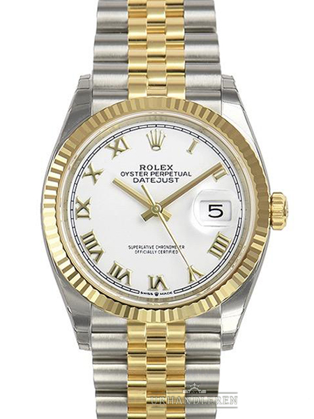 Rolex Datejust 36, Hvid