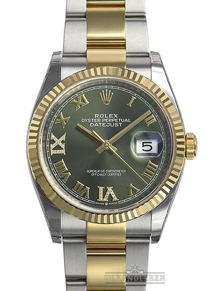 Rolex Datejust 36, Grøn