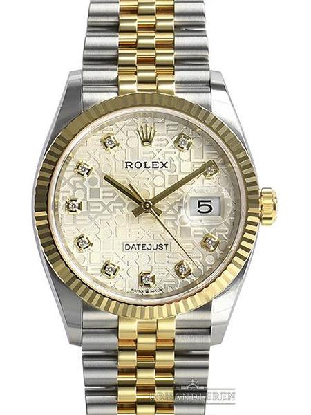 Rolex Datejust 36, Sølv/Jubilee