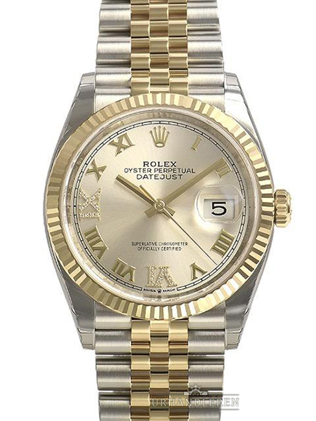 Rolex Datejust 36, Sølv