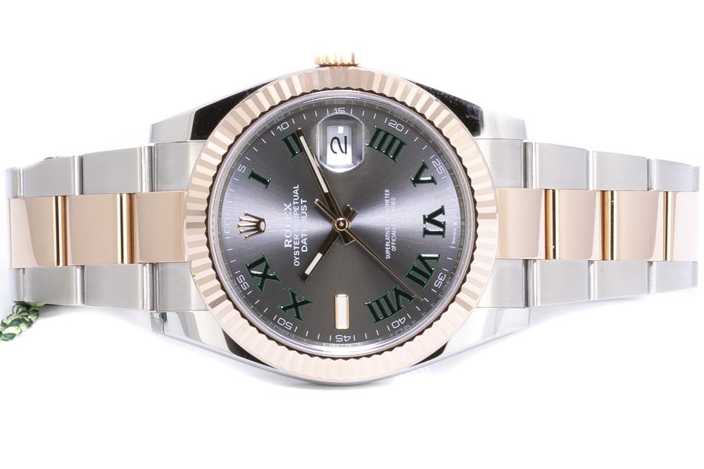 Rolex Datejust 41, Slate (Wimbledon)