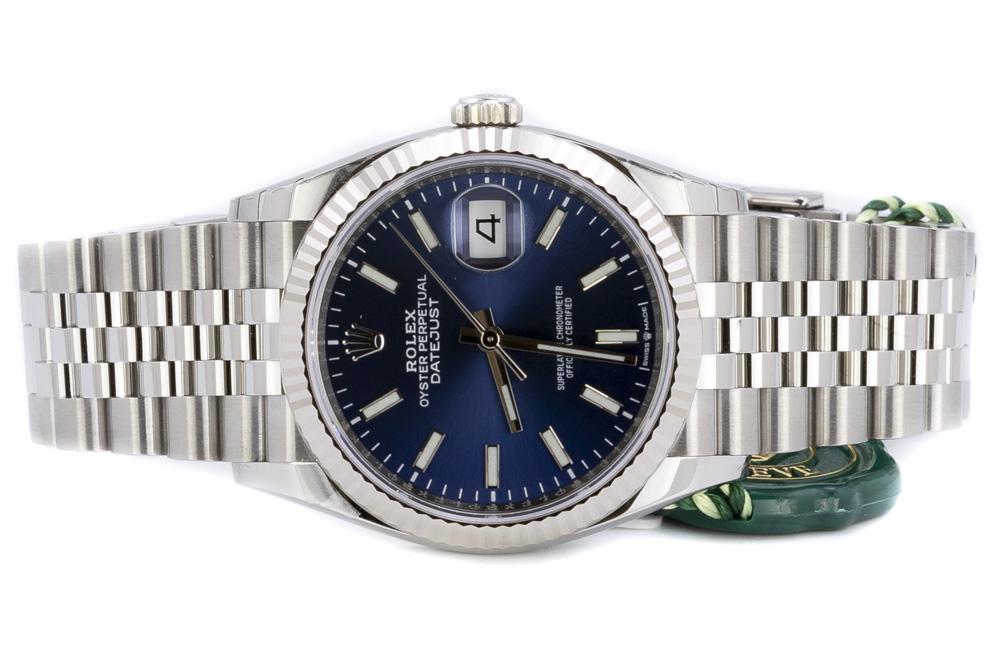Rolex Datejust 36, Blå/Jubilee