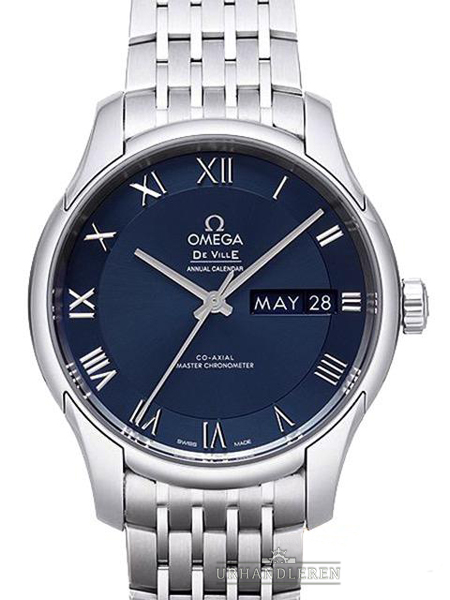 Omega De Ville Hour Vision Co‑Axial Master Chronometer Annual Calendar 41mm