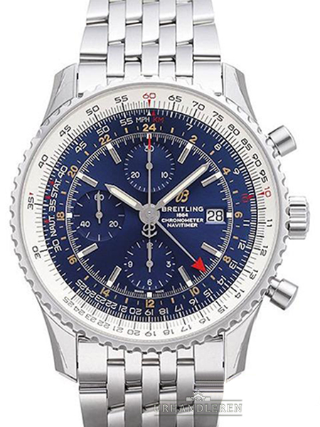 Breitling Navitimer Chronograph GMT 46