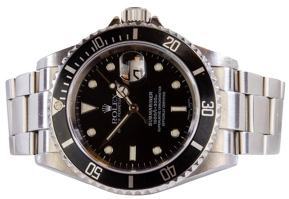 Rolex Submariner 16610, 2004