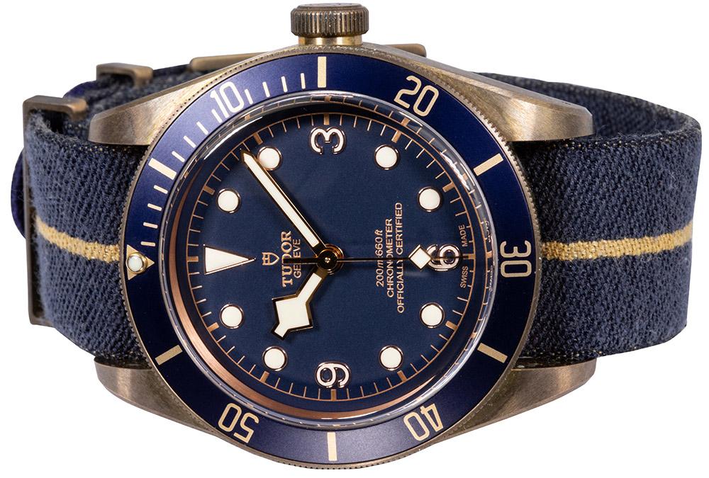 Tudor Black Bay Bronze Blue Bucherer