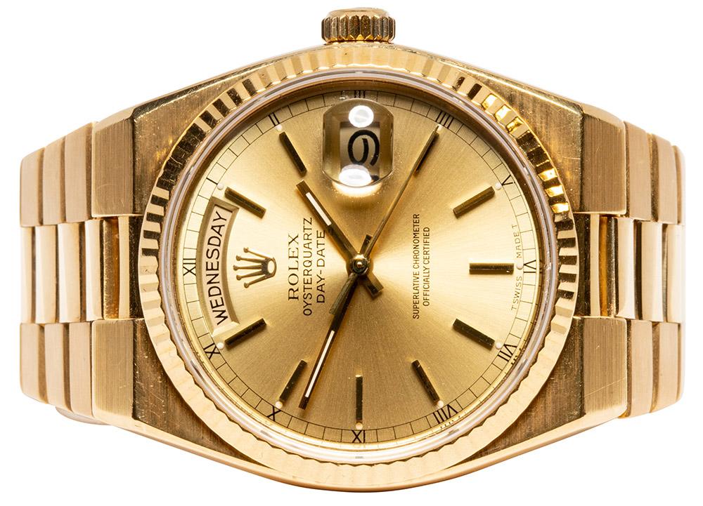 Rolex Day Date Oysterquartz
