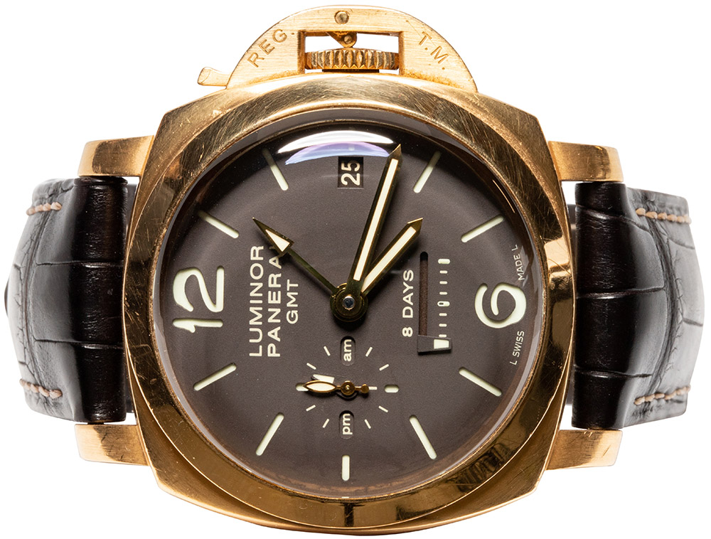 Panerai Luminor 1950 8 Days GMT Oro Rosa