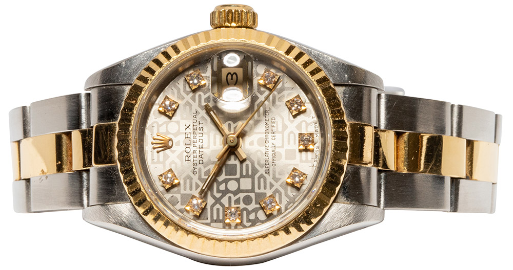 Rolex Datejust 26mm Oyster, Jubilee, Diamant