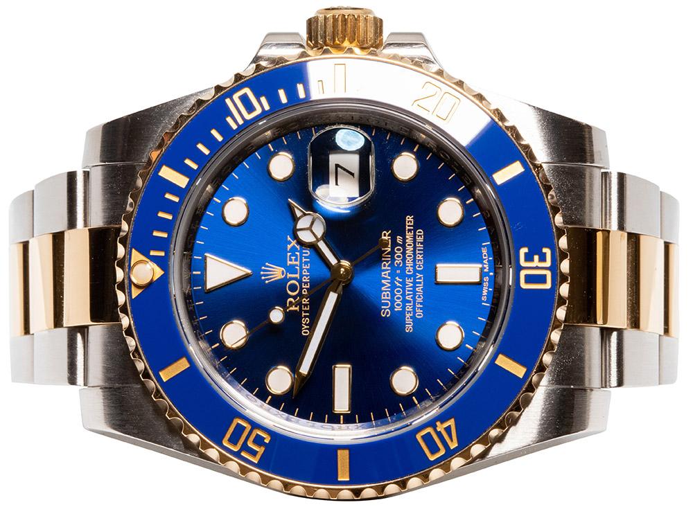 Rolex Submariner Date Guld/Stål