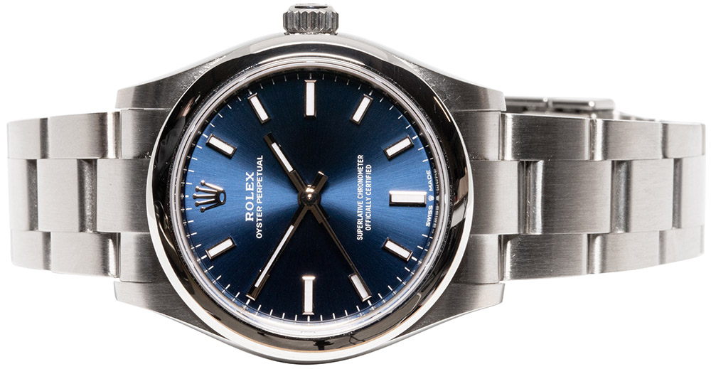 Rolex Oyster Perpetual 31mm Bright Blue