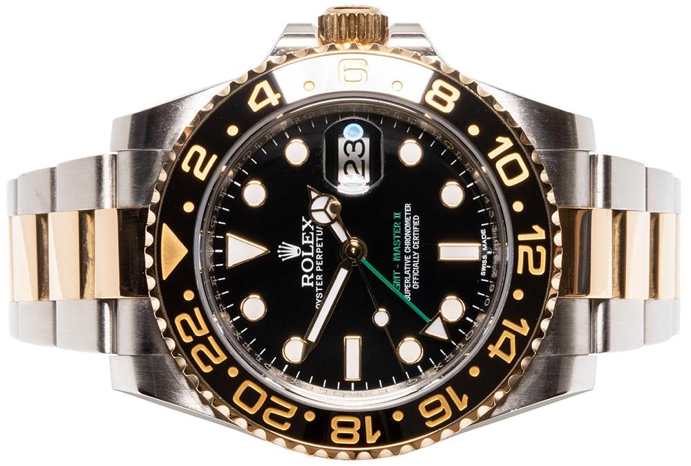 Rolex GMT Master II Guld/Stål