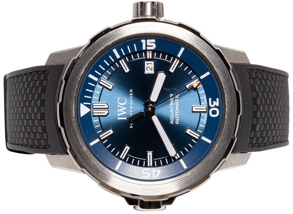 """IWC AQUATIMER AUTOMATIC EDITION """"EXPEDITION JACQUES-YVES COUSTEAU"""