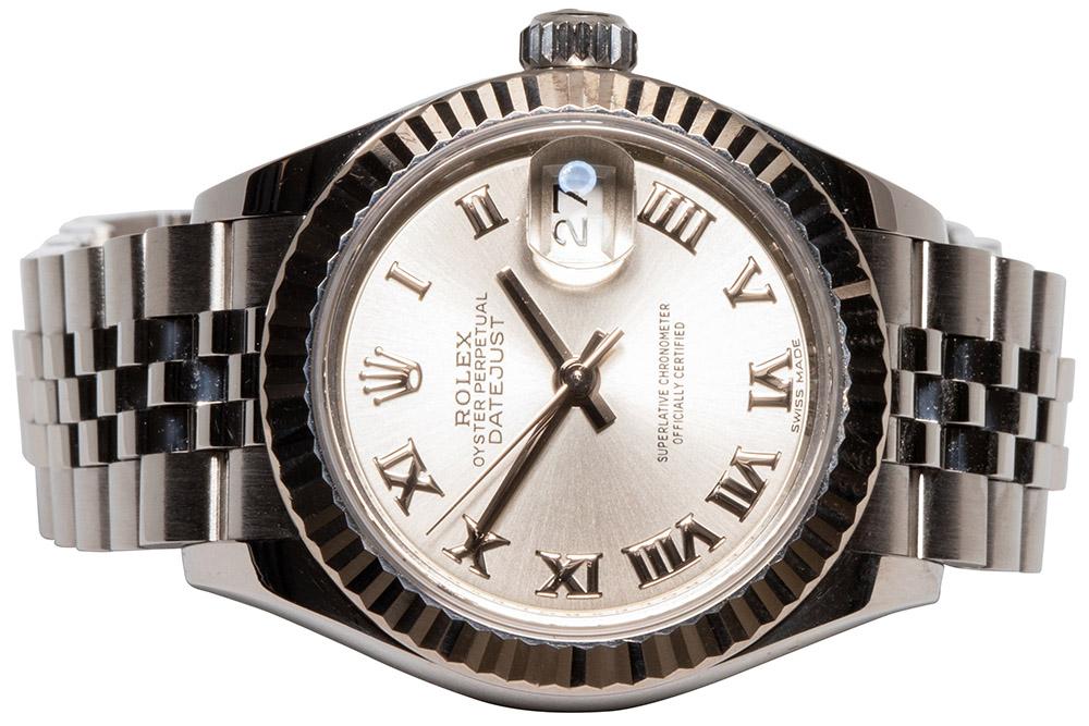 Rolex Datejust 28 Silver Roman, Jubilee