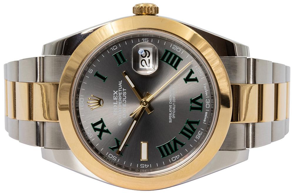 Rolex Datejust 41 Slate, Roman, Oyster