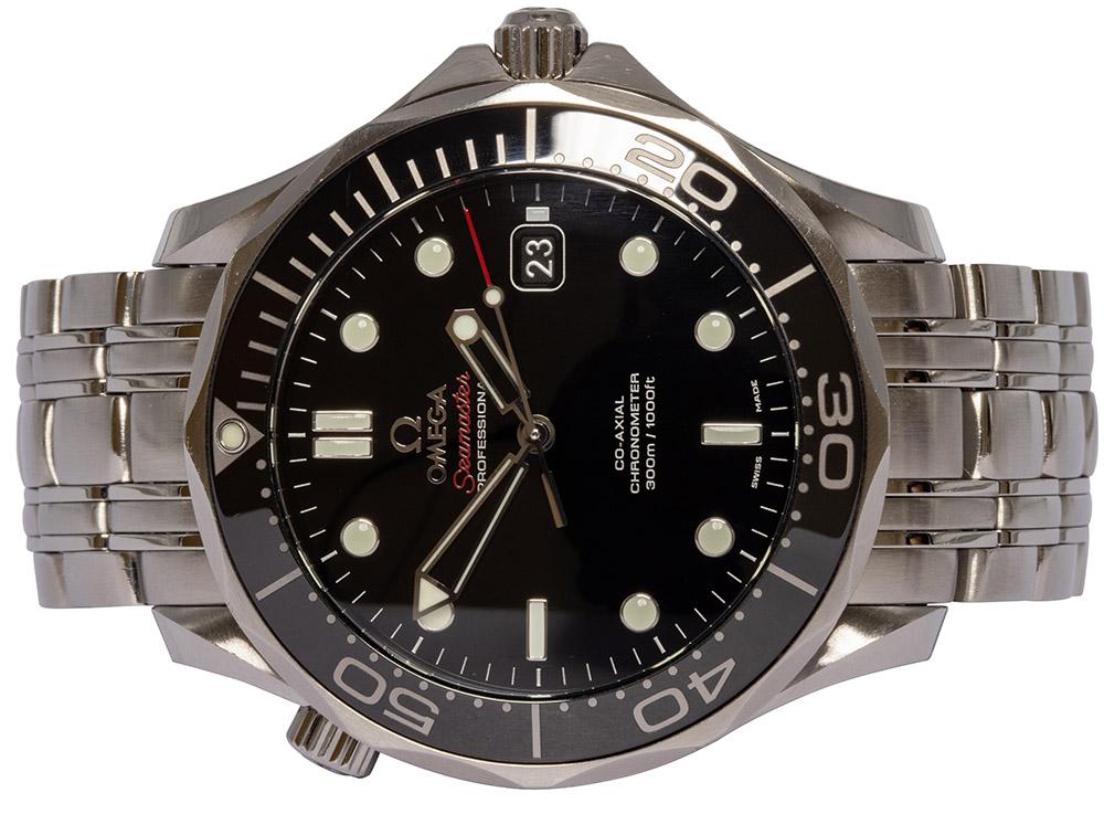 Omega Seamaster Diver 300M 41MM Sort