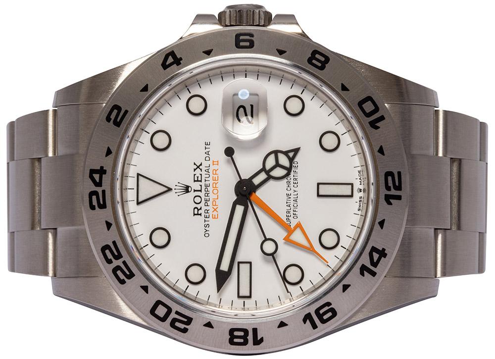 Rolex Explorer II Hvid 226570
