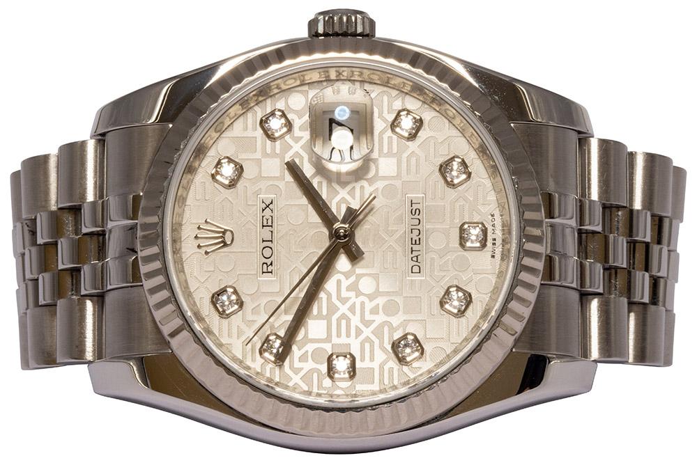 Rolex Datejust 36MM, Jubilee, Diamant, Jubilee