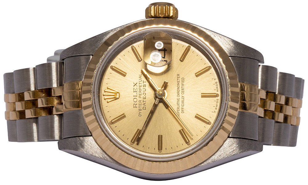 Rolex Datejust 26MM, Champagne, Indeks, Jubilee. 69173